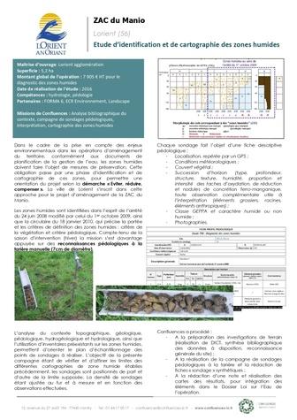 Diagnostic zone humide