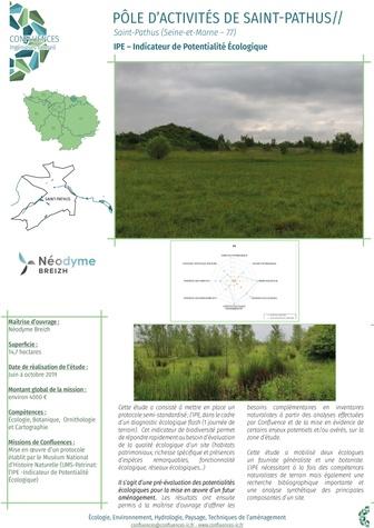 Indice de Potentialité Ecologique